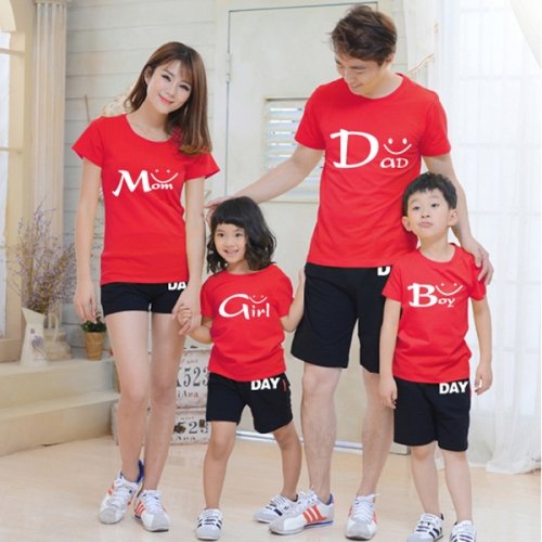 in hình lên áo gia đình