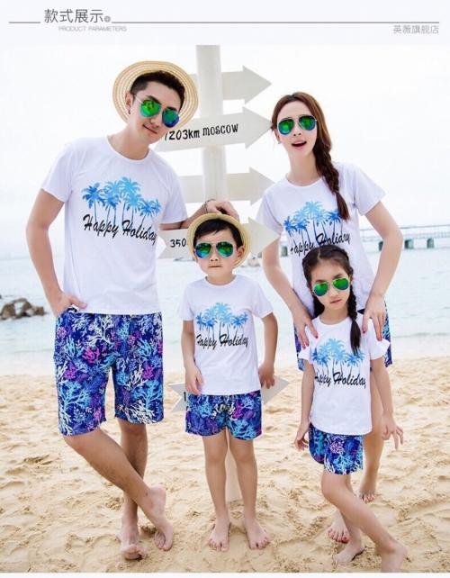 áo thun gia đình